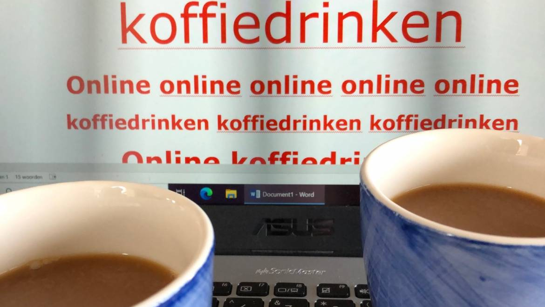 'online koffiedrinken'