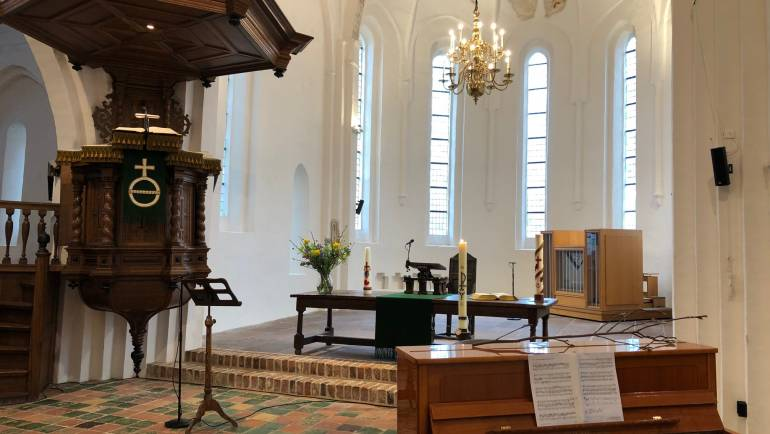 Tsjinst 21 febr. Pastoor P. Verheijen, RK Parochie Sint Martinus Burgum