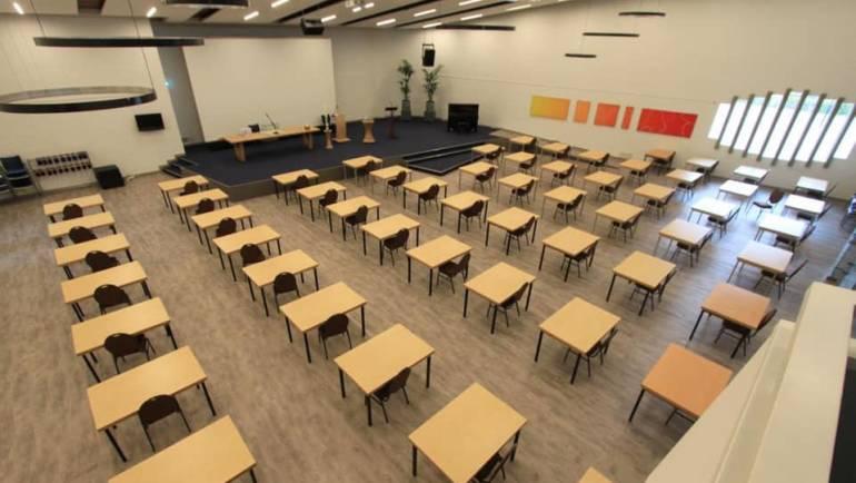 De Ikker examenzaal!
