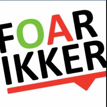 Tienerdienst 26 september 9.30 uur in de Foarikker!